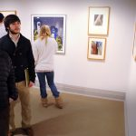 ENGL 86 students take tour of their FYS Study Gallery