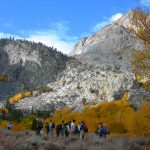 GEOL 72 students explore the south fork of Big Pine Creek