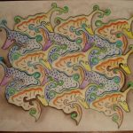 Tessellation image created by student in MATH 58